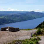 Stone shelter above Loch Ness (High Route)