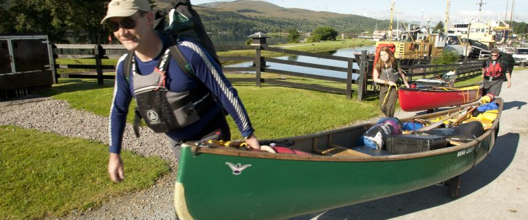Portage at Banavie