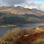 Arrochar Alps from Glen Douglas