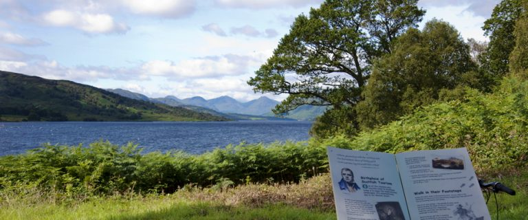 Brenachoile Point, Loch Katrine