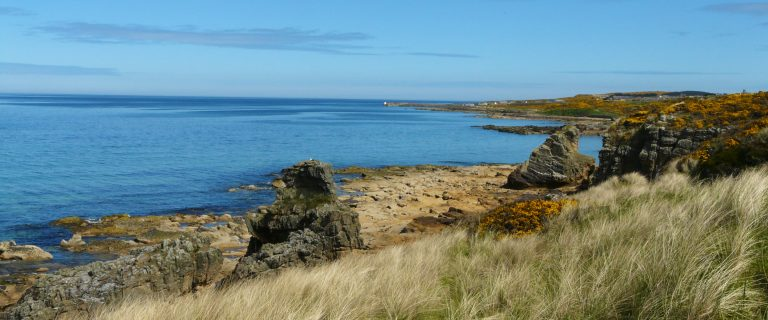 Between Burghead and Hopeman