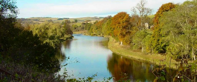 River Tweed near Weirhill