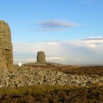Twin Law cairns, Lammermuir Hills