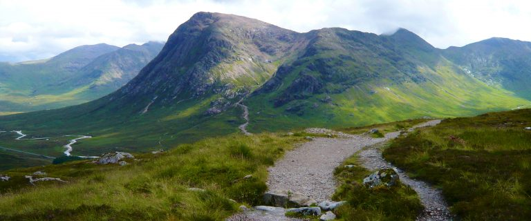 Glen Coe from the Devil's Staircase